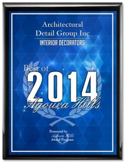 Award 2014 Best Of Business Interior Design ADG Lighting