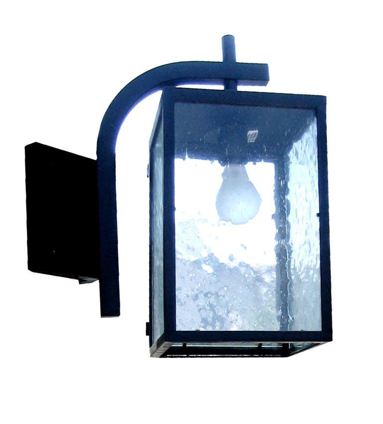 292 Mb1 Br W Sh Adg Lighting Grey Owl Lantern Lighting Wall Brass Cast Iron  – ADG Lighting