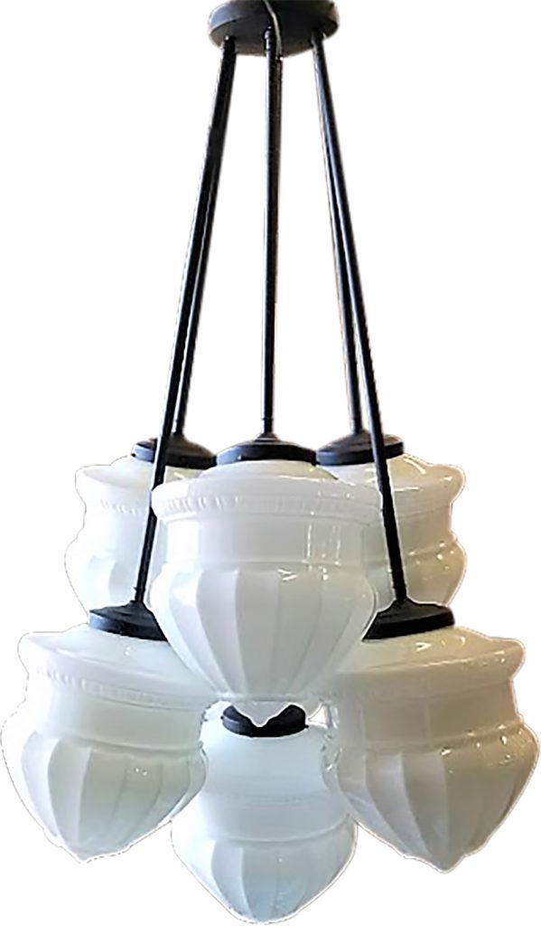 #7201 Acorn Chandelier ADG Lighting