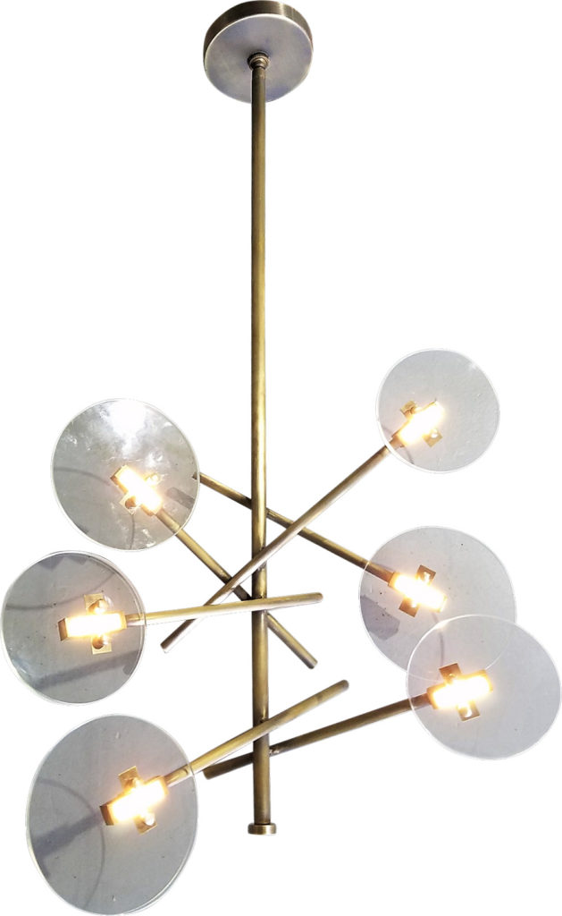 #90770 Schneider Chandelier ADG Lighting