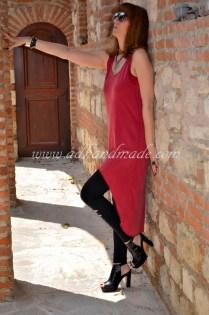 Ön Kısa, Arka Uzun Elbise (Front Short, Back Long Dress)