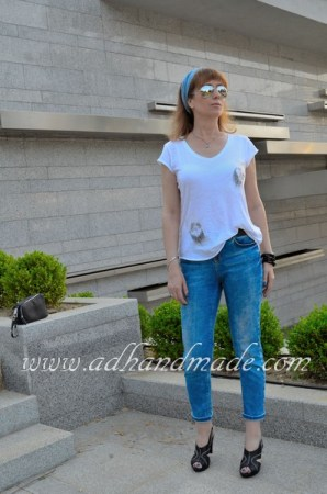 """""""Love"""" T-shirt; Iron-On Transfer by adhandmade"""