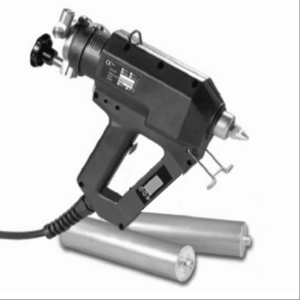 Champ 10 LCD Debadged Hot Melt Adhesive Gun w/ Cartridges