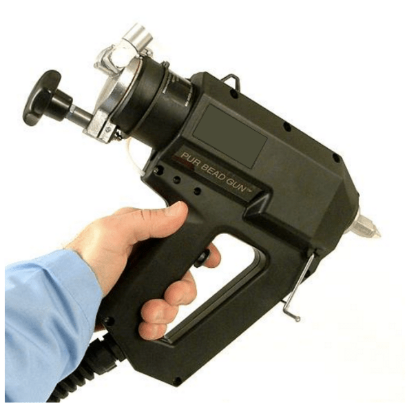 PUR Moisture Cure Cartridge Hot Melt Bead Gun
