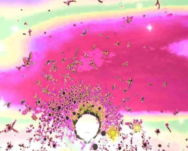 Galaxy in a Glass by kerry rawlinson