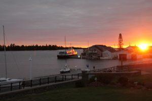 Sunrise in Copper Harbor