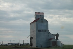 Dog River Grain Elevator, Rouleau, Saskatchewan