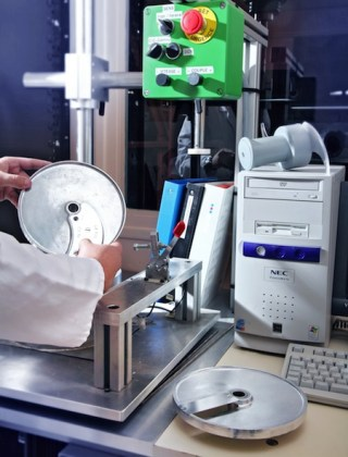 Cutting test for rotating equipment