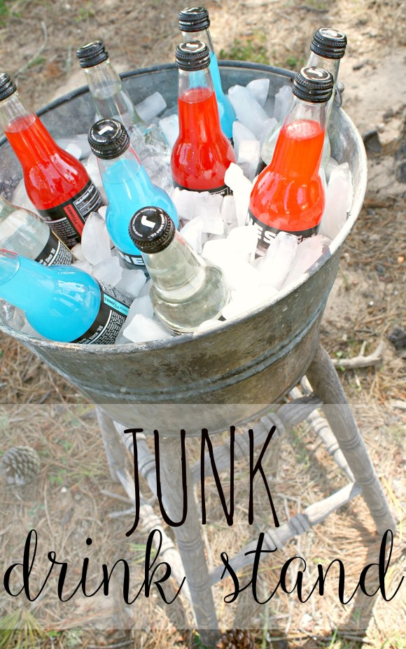 Junk Drink Stand | A Diamond in the Stuff