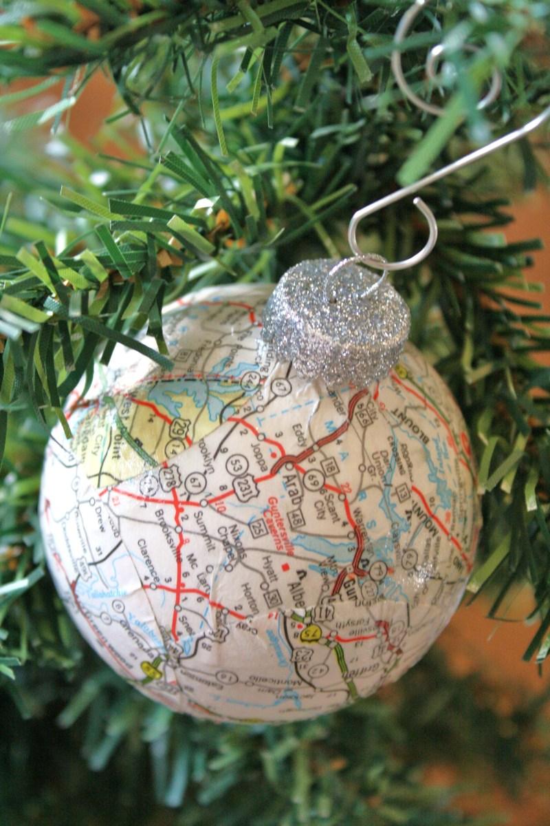 Mod And Podge Paper Ornaments Glitter Tissue