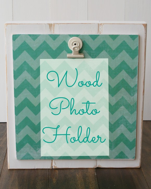 Wood Photo Holder