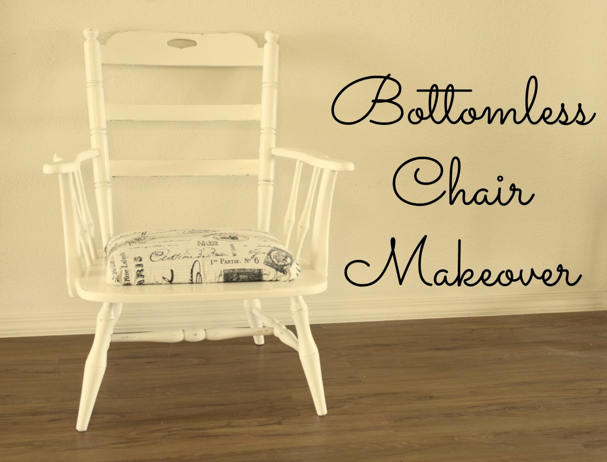 The Bottomless Chair Makeover