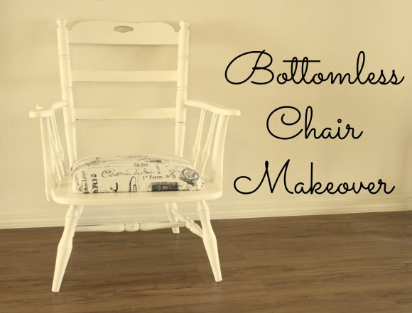 bottomless chair makeover