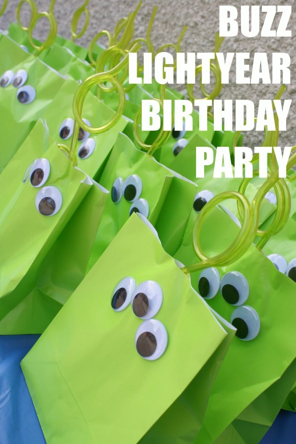 buzz lightyear birthday party
