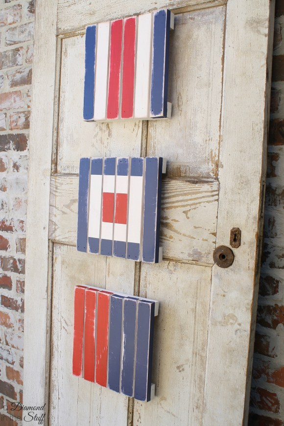Nautical Pallet Flags