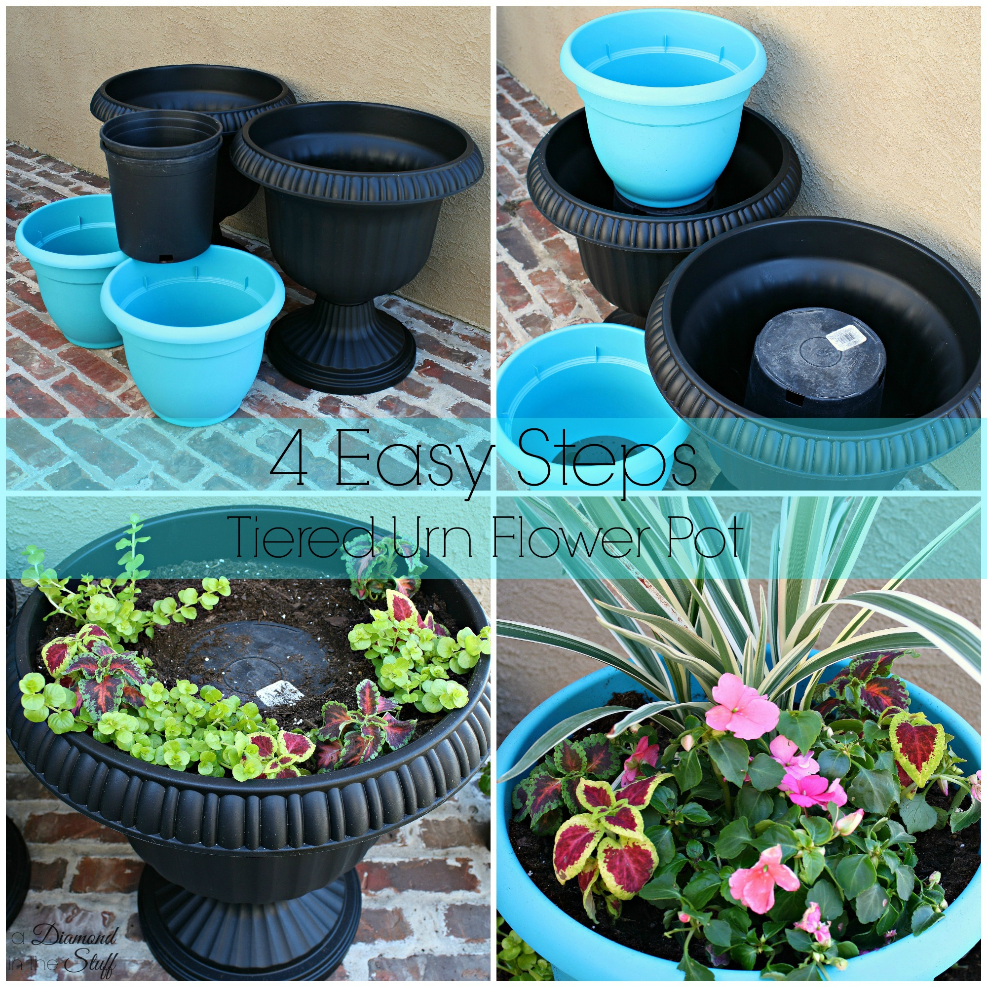 how to clean dirty flower pots