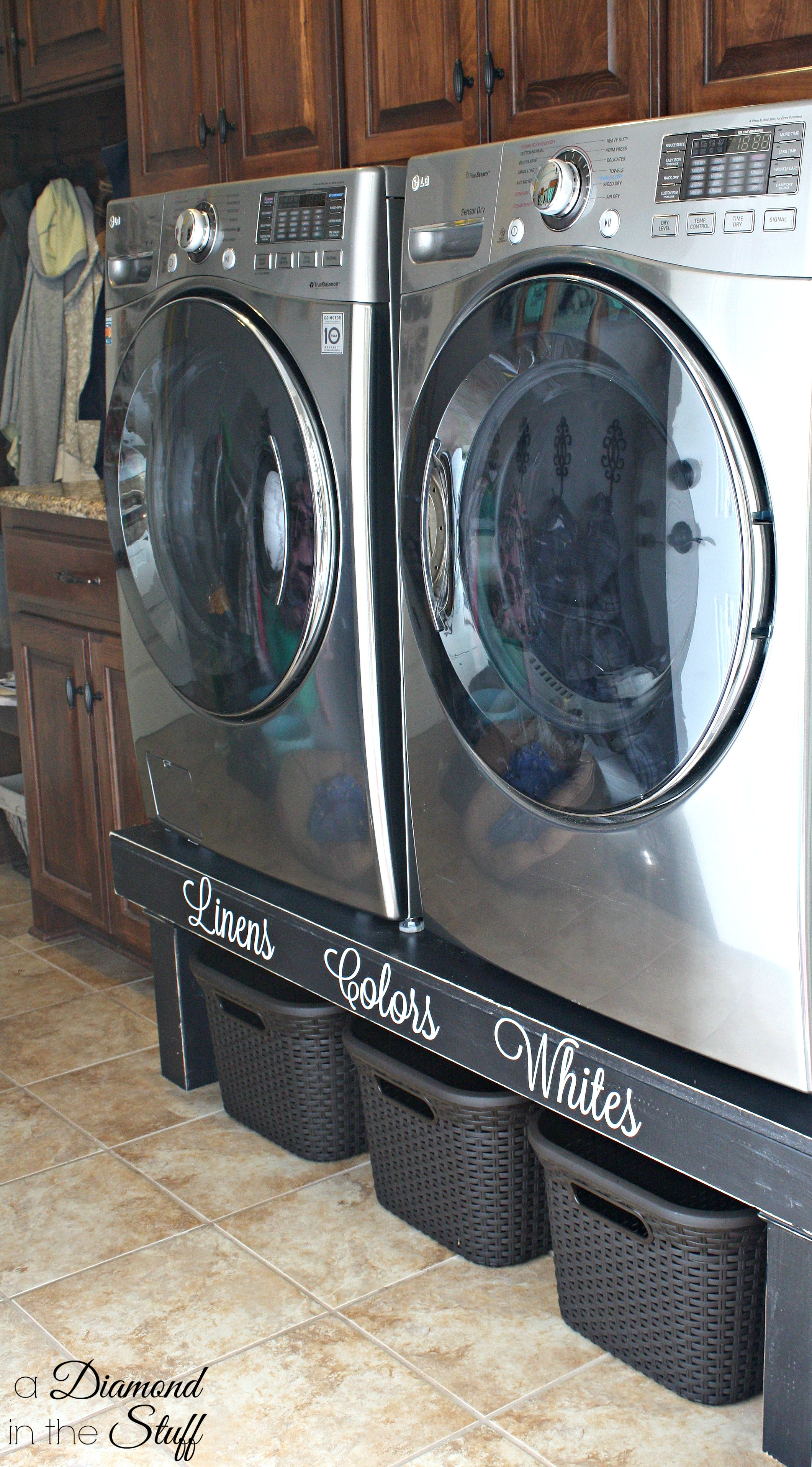 Diy Washer Amp Dryer Pedestal