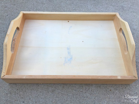 Yard Stick Serving Tray | A Diamond in the Stuff
