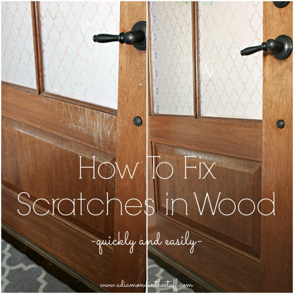 How To Fix Scratches In Wood Quickly And Easily