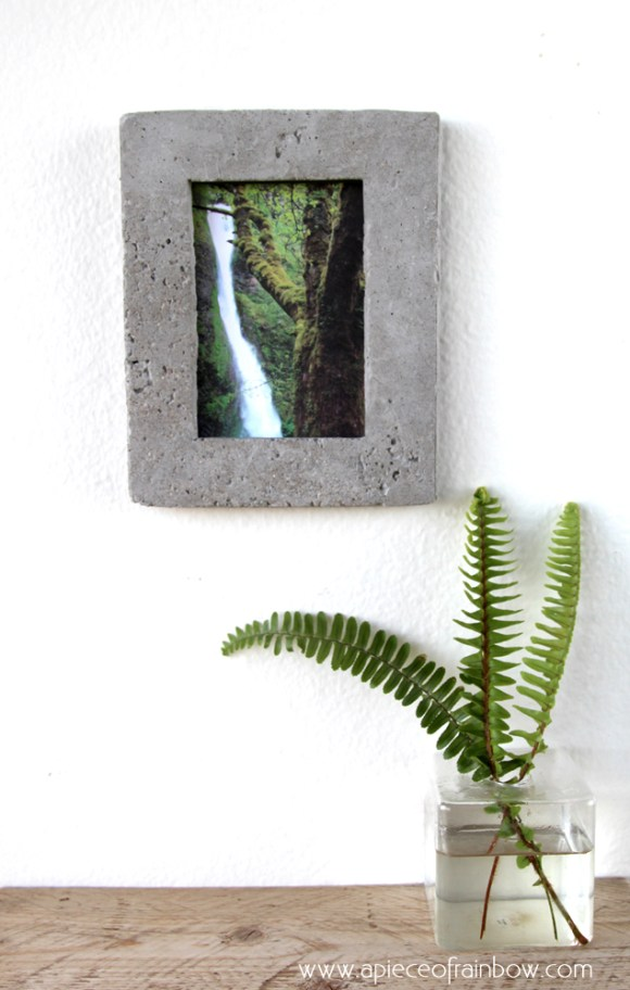 8 DIY Concrete Projects | A Diamond in the Stuff