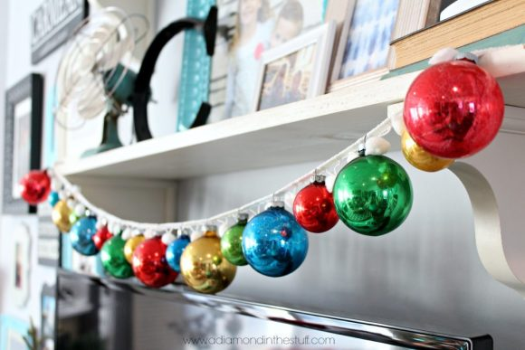 Vintage Ornament Garland | A Diamond in the Stuff