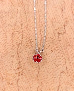 Stainless Steel Zircon Stone Necklace