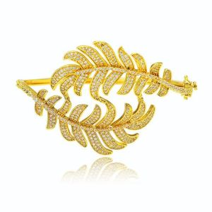24K gold color fashoin bangle