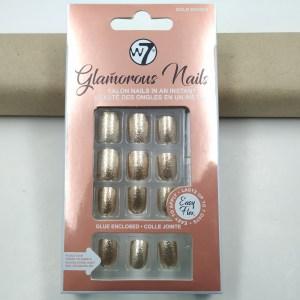 W7 Glamorous Nails Gold Digger