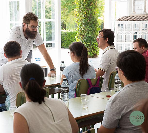 el único restaurante del mundo de alta cocina con la totalidad de la plantilla compuesta por personas con diversidad funcional.