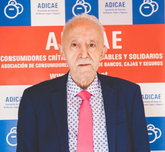 Manuel Pardos Vicente, presidente Nacional ADICAE