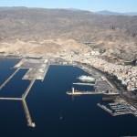 Vista aérea del Puerto de Almería