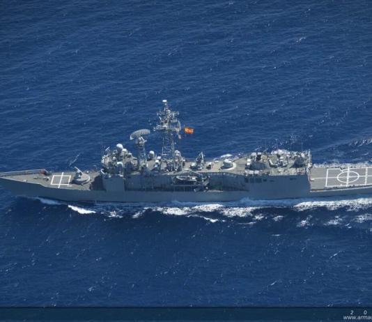 Fragata 'Navarra' de la Armada Española
