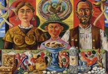 'Personajes y bodegón', de Rafael Zabaleta