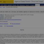 Real Decreto Ley 7/2019 acerca de medidas urgentes en materia de vivienda y alquiler