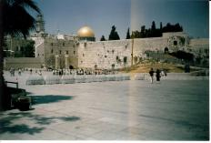West Wall and Dome of Rock