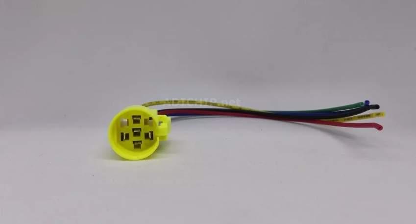 Cable Conector para Pulsador Metálico de 19mm