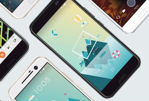 Samsung Galaxy S7 vs HTC 10 pantalla