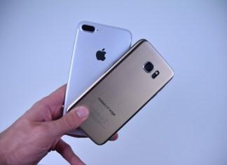 Galaxy S8 Plus vs iPhone 7 Plus Portada 2