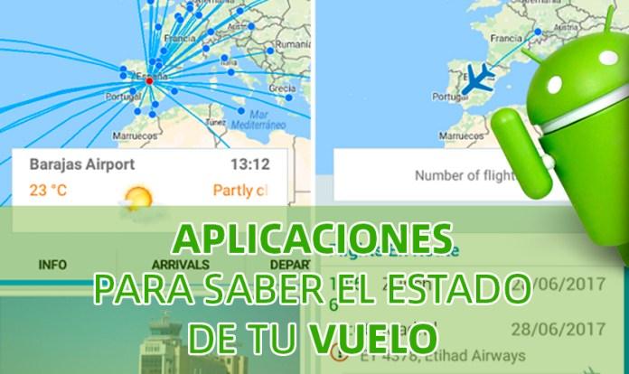 Aplicaciones para saber el estado de un vuelo