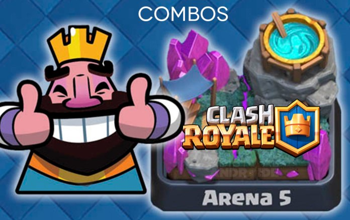 Mejores combos de Clash Royale para ganar en la Arena 5