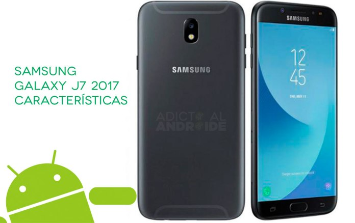 Samsung Galaxy J7 2017 características