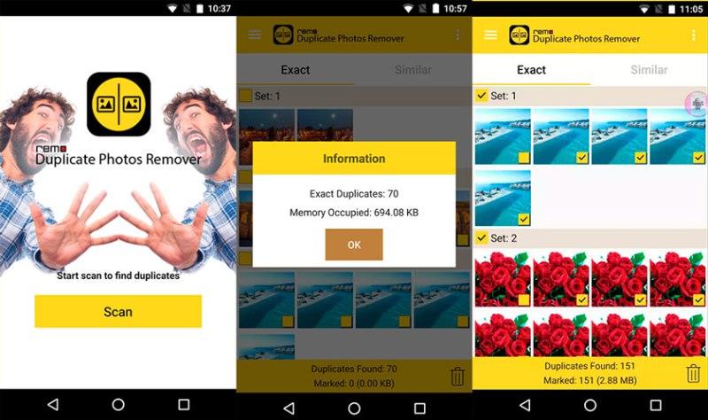 Como eliminar fotos duplicadas android