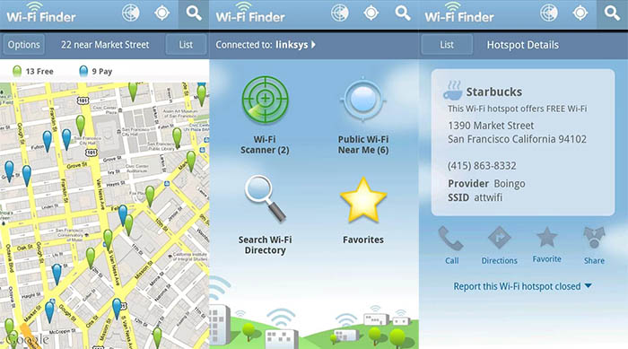 WiFi Finder android