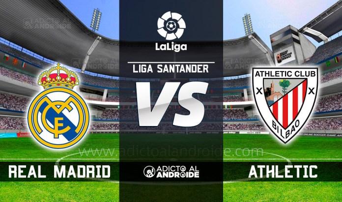 Ver Real Madrid vs Athletic en VIVO online GRATIS