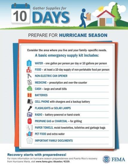 Emergencias 101: Preparándose para un huracán _ Adictos a Descubrir a PR
