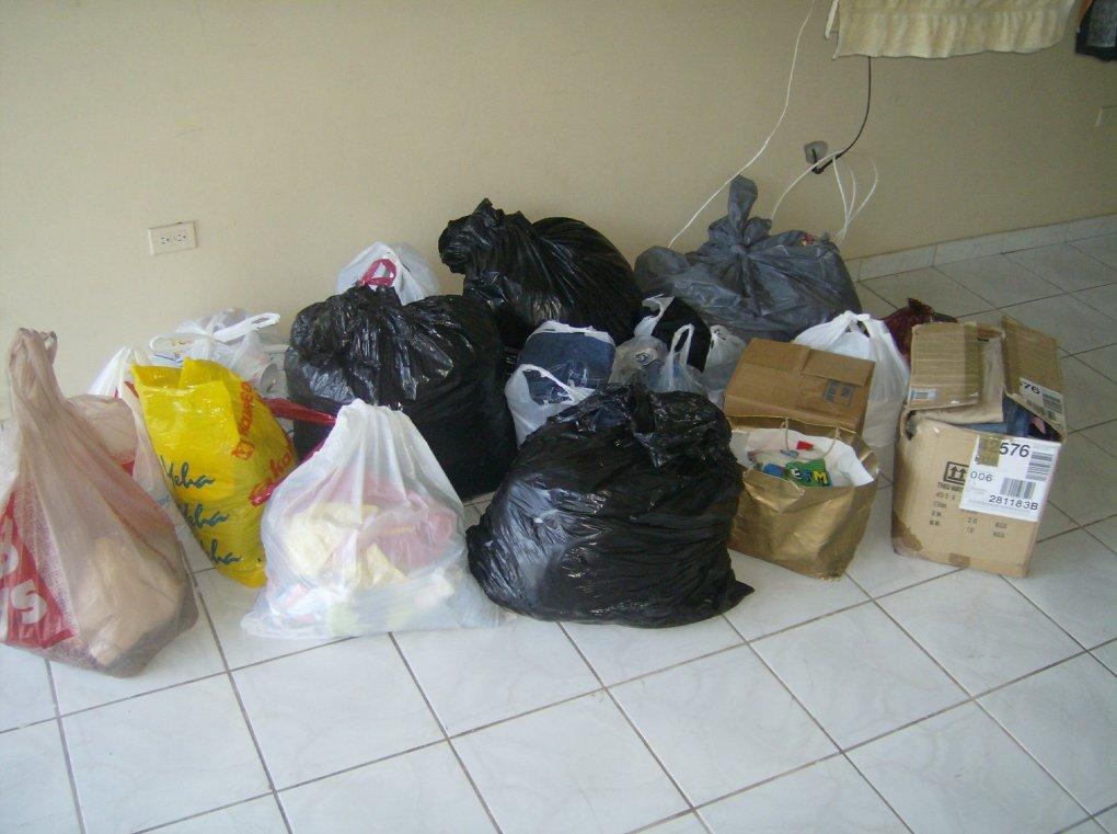 Donacion de Ropa a Peru @ 2007