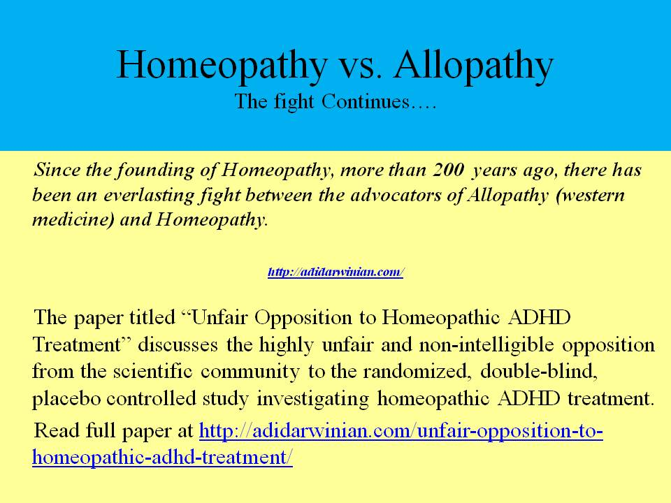 efficacy of homeopathy against western medicines Medicines should be given in  have the effect i have outlined is strong evidence against homeopathic remedies homeopathy  ed western medicine: an.