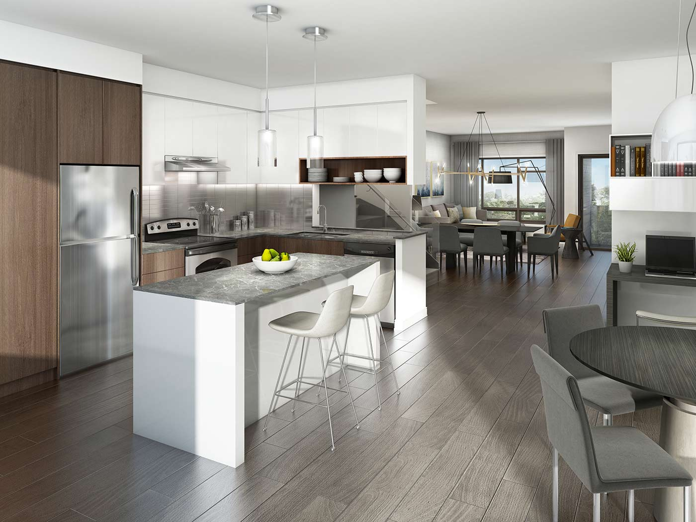 Stationwest Smart Style Townhomes Gallery In Burlington