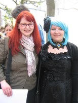 That's me and a cosplayer