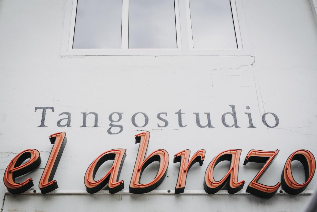 Logo vom Hamburger Tangostudio el abrazo bei einer Hochzeit